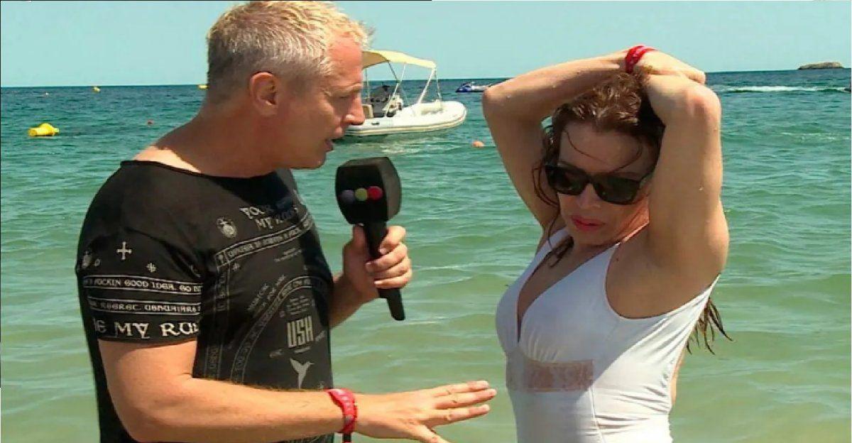 Lizy Tagliani y Marley recrearon el desnudo más famoso de la Coca Sarli