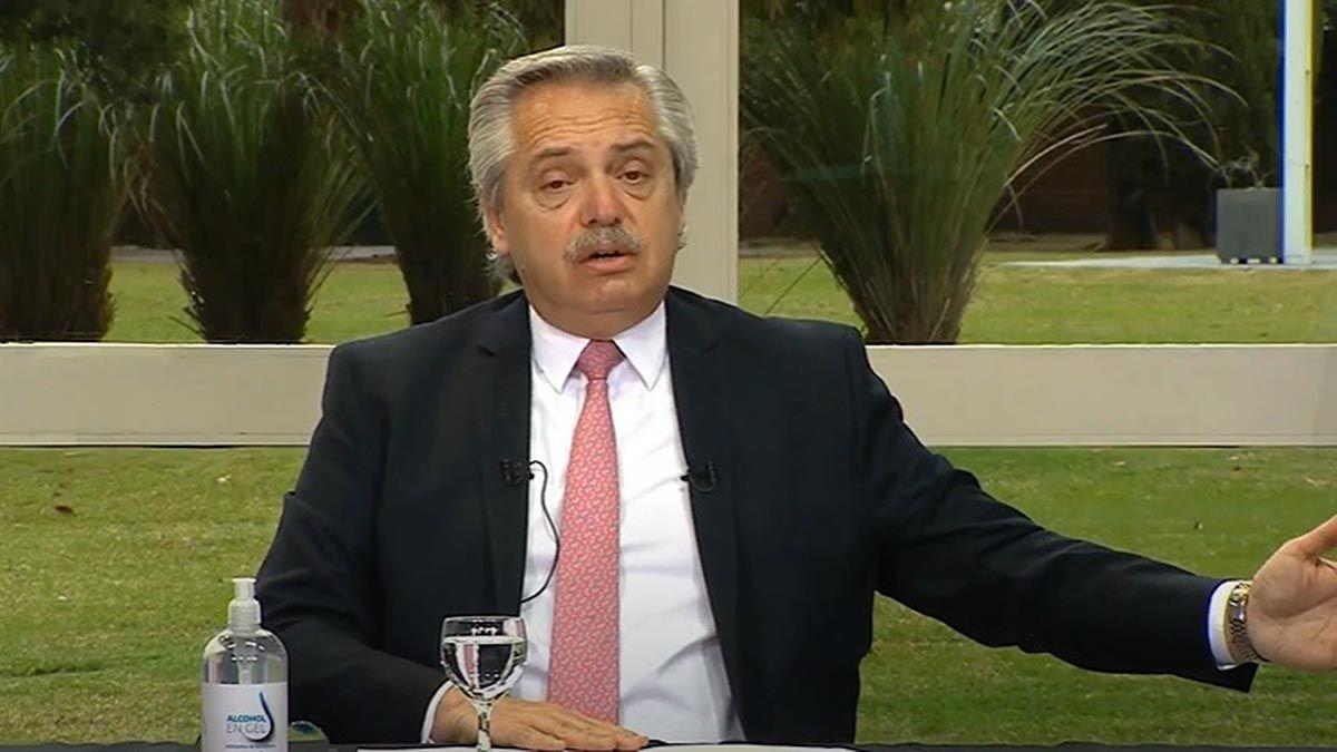 Alberto Fernández se reunió en Olivos con el gobernador del Chaco