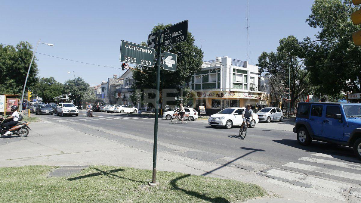Avenida 7 de marzo y Centenario