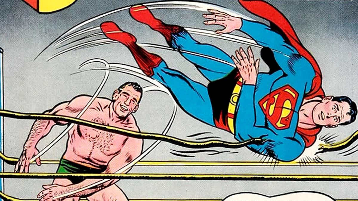 Antonino Rocca se transformó en el primer y único argentino en enfrentarse a Superman en el año 1962.