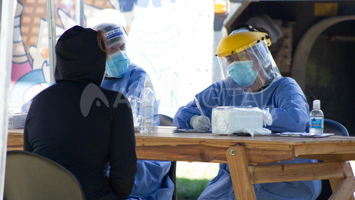 Operativo DetectAr en barrio El Pozo