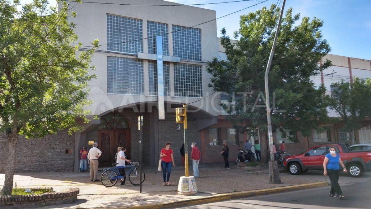 El intento de secuestro se registró a escasos metros de la iglesia Nuestra Señora de Luján.