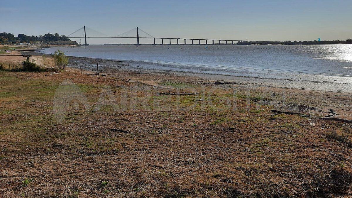La bajante en la cuenca del río Paraná es la más importante en medio siglo.