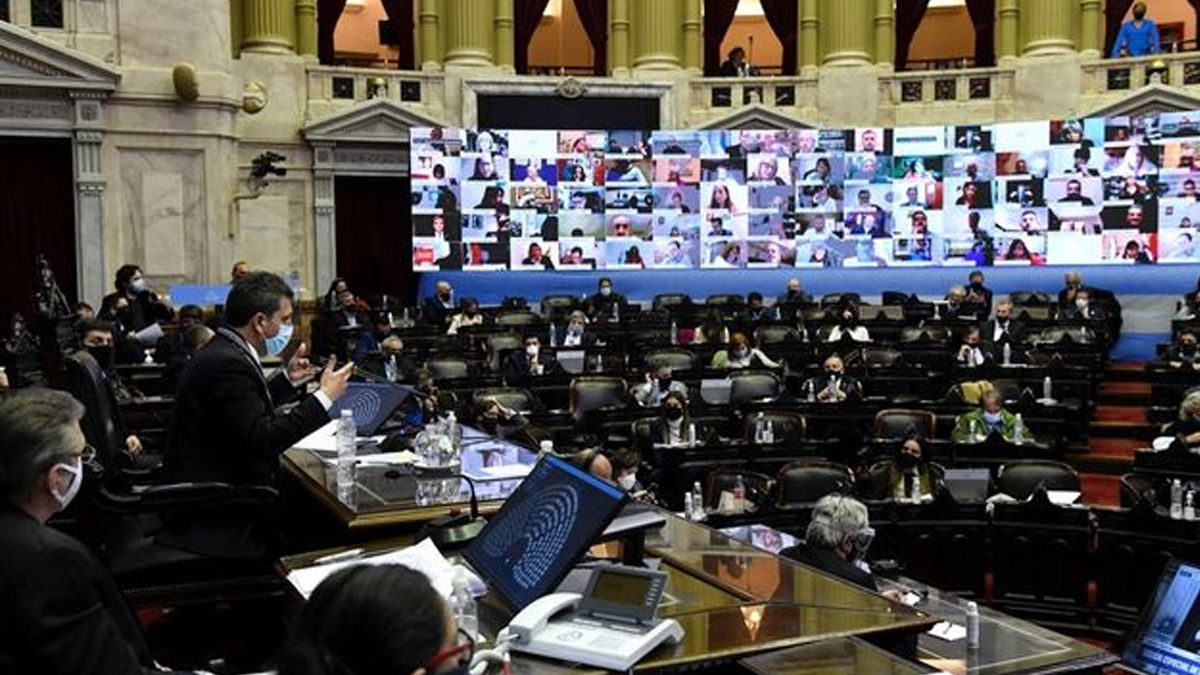 El bloque de diputados del Frente de Todos consiguió junto a bloques provinciales