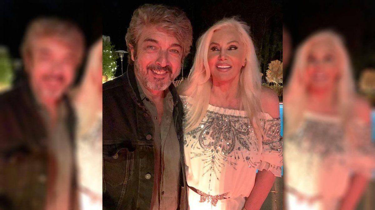Ricardo Darín y Susana Giménez quedaron muy amigos luego del romance que tuvieron años atrás.
