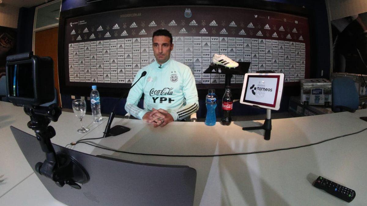 En la conferencia de prensa