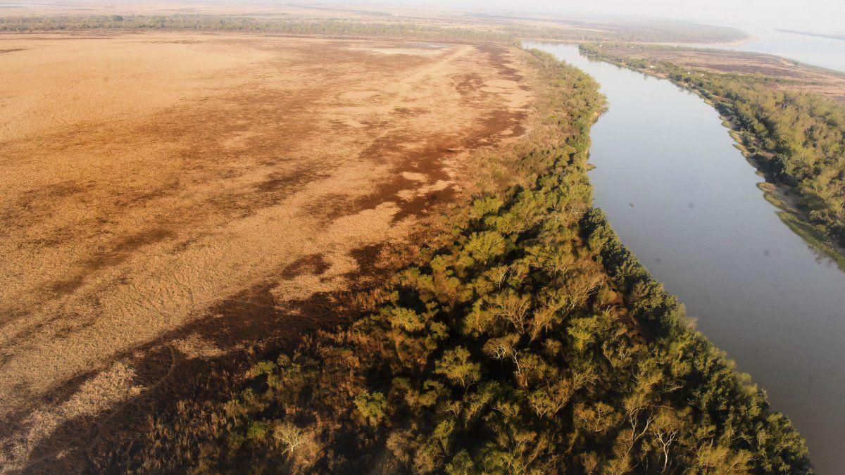 Buscan proteger la isla del Paraná que nació tras el choque de dos barcos hace casi 80 años