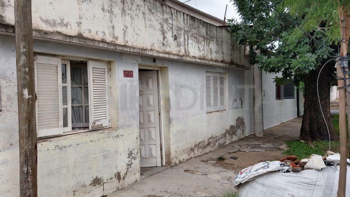 La vivienda está ubicada en calle French al 1500 del barrio Coronel Dorrego