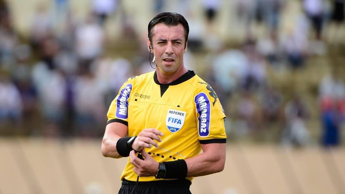 Raphael Claus dirigirá Argentina - Paraguay en La Bombonera, por Eliminatorias.