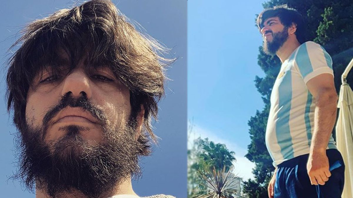 El increíble cambio físico de Marco Antonio Caponi tras bajar 7 kilos en un mes: Desintoxicación activada