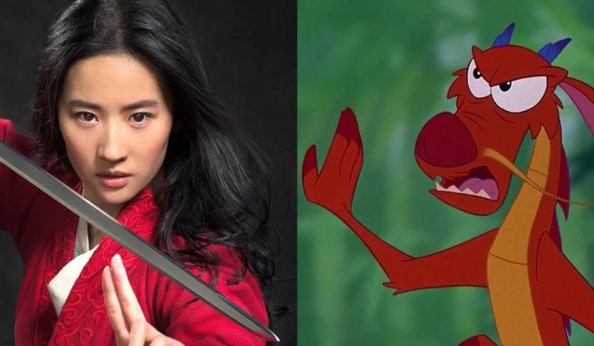 Fanáticos de Mulan reclaman la ausencia de Mushu