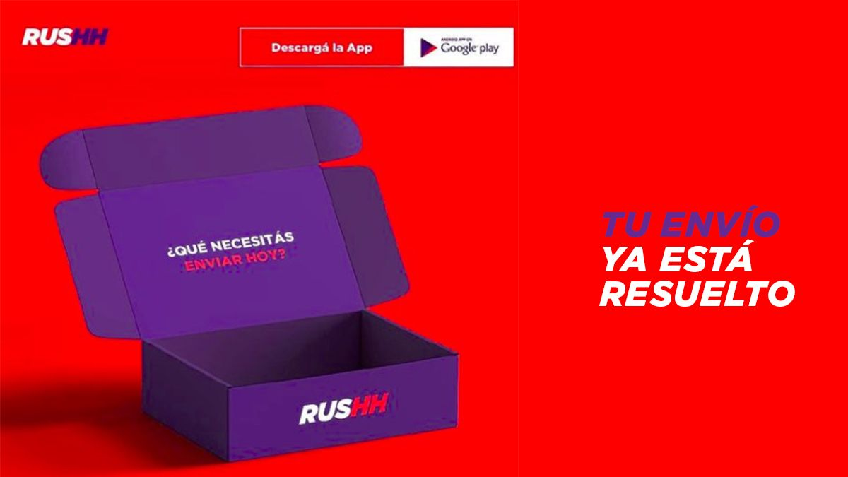Rushh: una nueva forma de enviar paquetes por el país