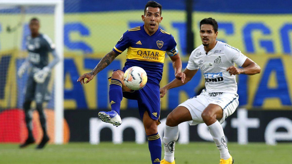 Boca visita a Santos por la Copa Libertadores