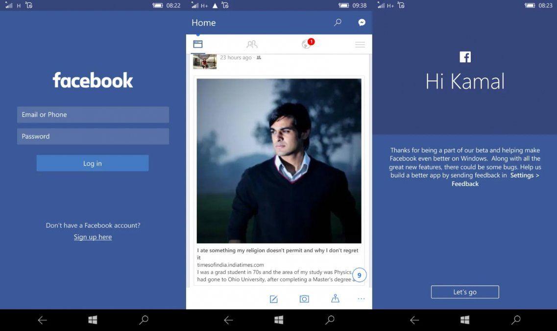 La app oficial de Facebook para Windows dejará de funcionar a finales de febrero