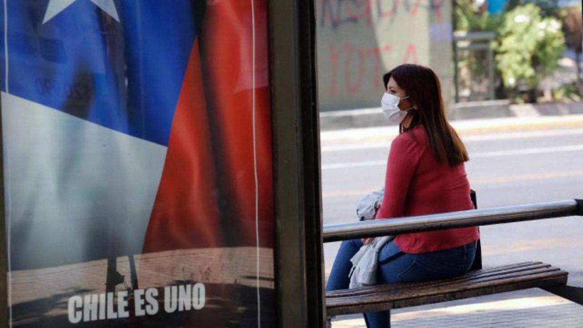 Desde noviembre hay toque de queda en Chile por la pandemia.