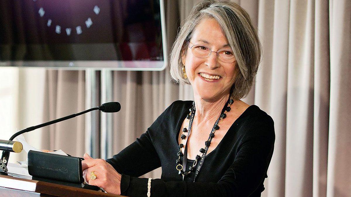 La poeta estadounidense Louise Glück