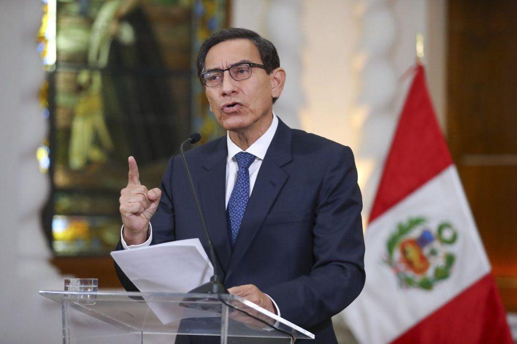 El presidente de Perú