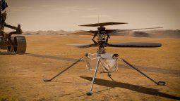 El rover Perseverance de la NASA captó por primera vez el zumbido de las hélices del helicóptero Ingenuity mientras volaba en la atmósfera marciana