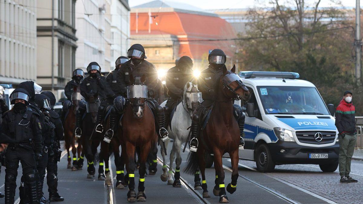 La policía de la ciudad alemana de Tréveris pidió a la población mantenerse alejada de la zona del incidenteFuente: AFP