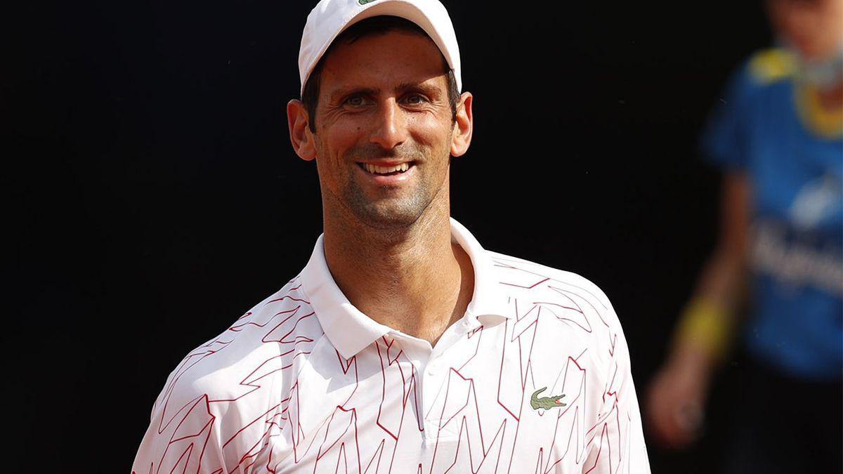 Nole dejó en el camino a Rudd y alcanzó su décima final del Masters 1000 de Roma.