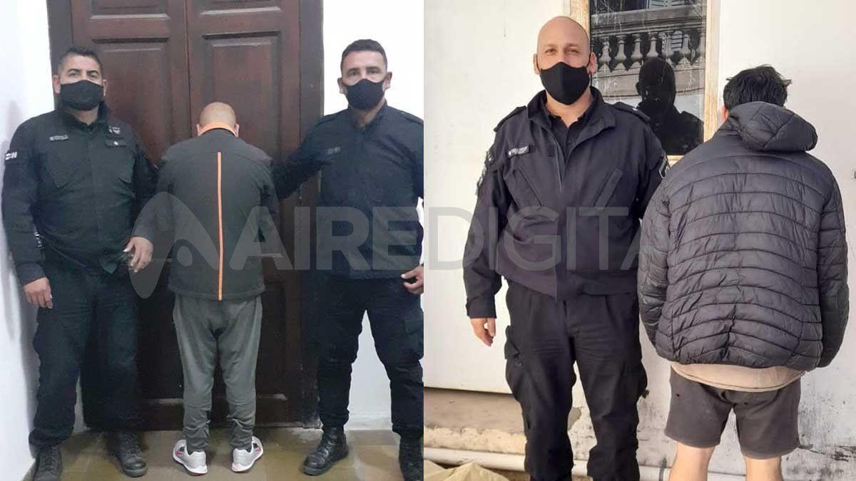 Un hombre de 51 años y un joven de 25 fueron detenidos tras un violento asalto en San José del Rincón.