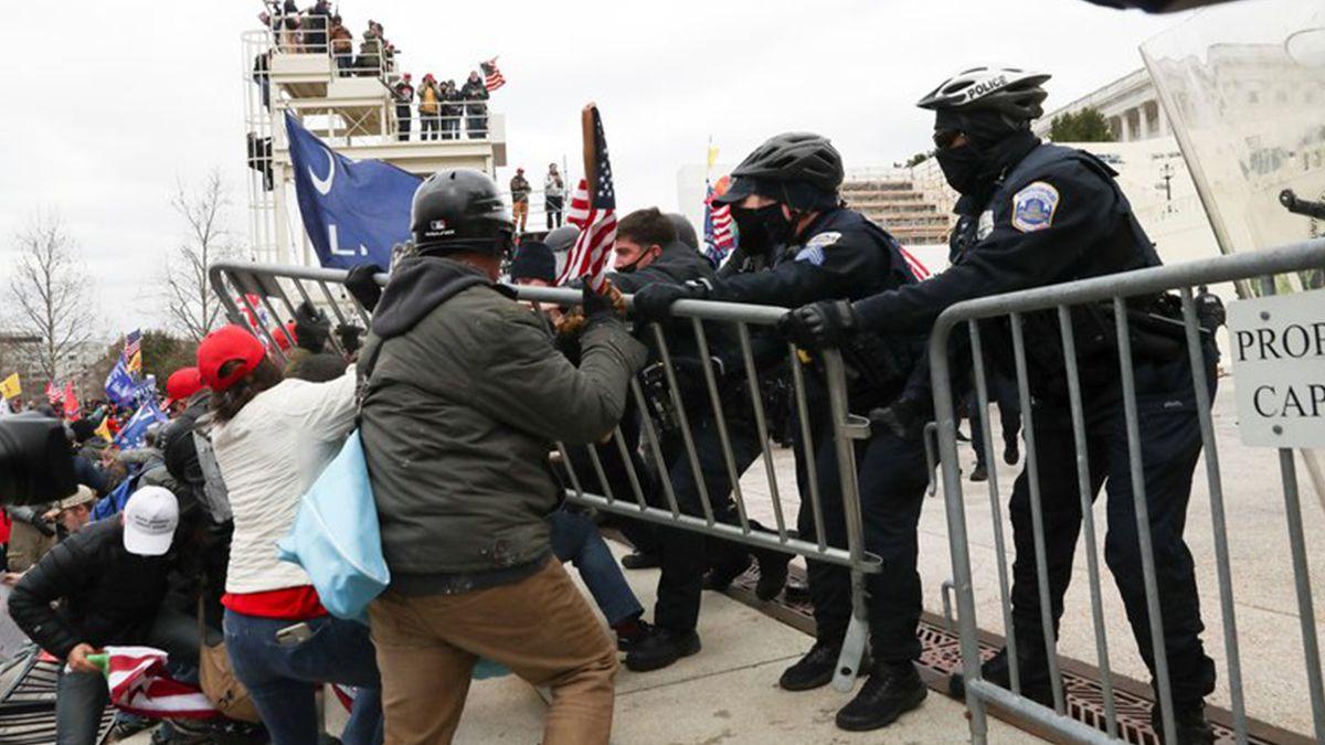 Temen que irrupciones violentas como la del Capitolio en Washington se repitan el día de la asunción de Biden.