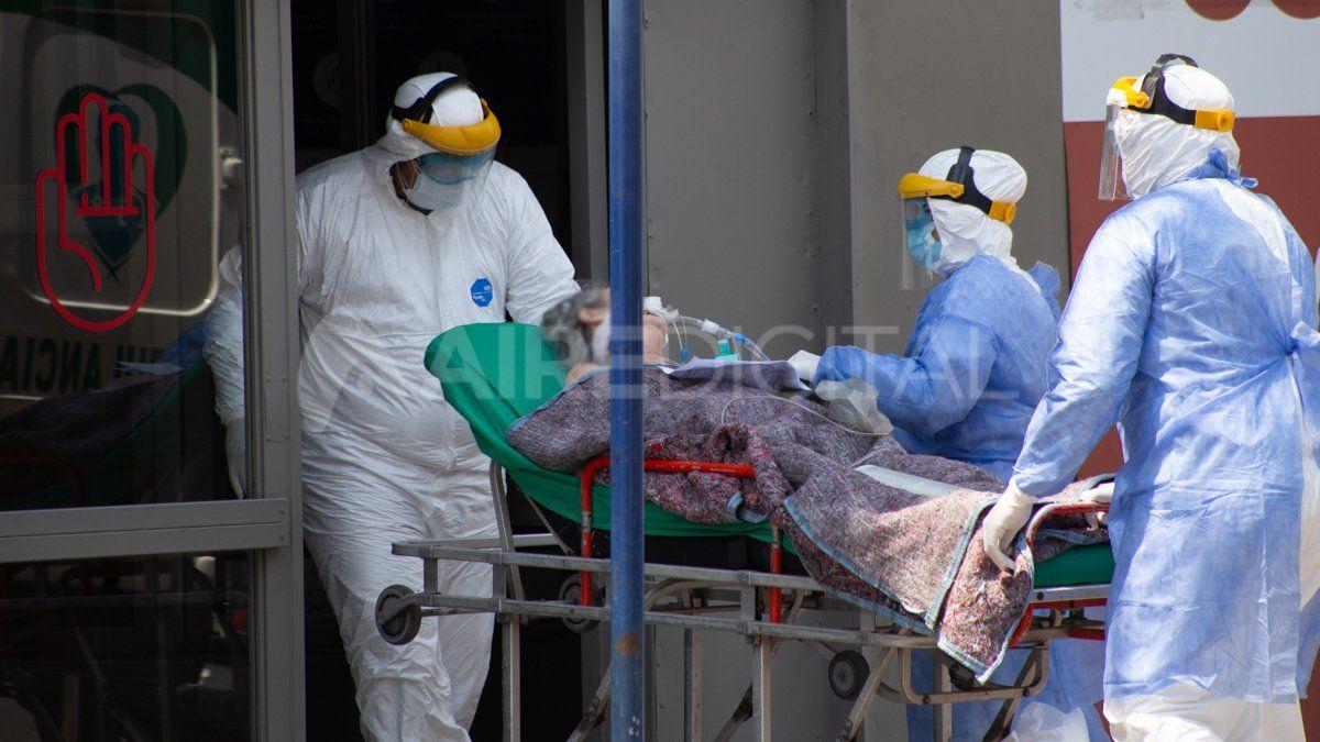 .La cartera sanitaria indicó que son 4.245 los internados en unidades de terapia intensiva