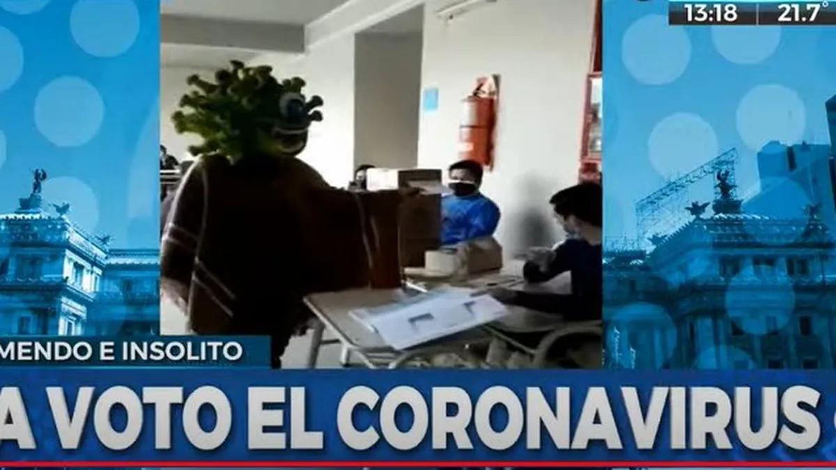 Los mejores memes de las Paso 2021: la mesa donde votó Alberto Fernández, el hombre-carpincho y el candidato payaso