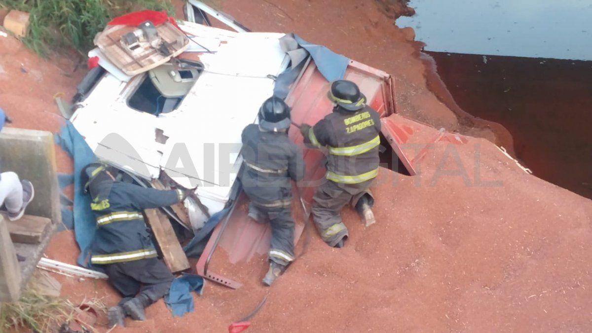 El camionero era un joven de apenas 21 años que venía desde la provincia de Chaco.