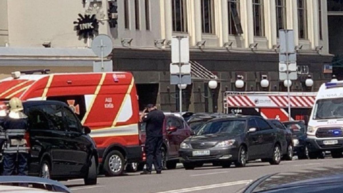 Un hombre se atrincheró en un banco de Ucrania y amenazó con hacerlo explotar