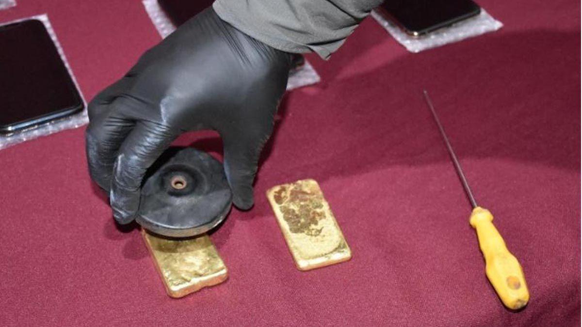 Lingotes de oro secuestrados de un camión en Formosa