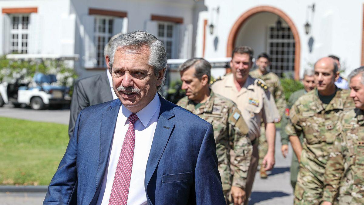El presidente Alberto Fernández presenta este miércoles el Fondo Nacional de la Defensa (Fondef). El acto será en la sede del astillero Tandanor