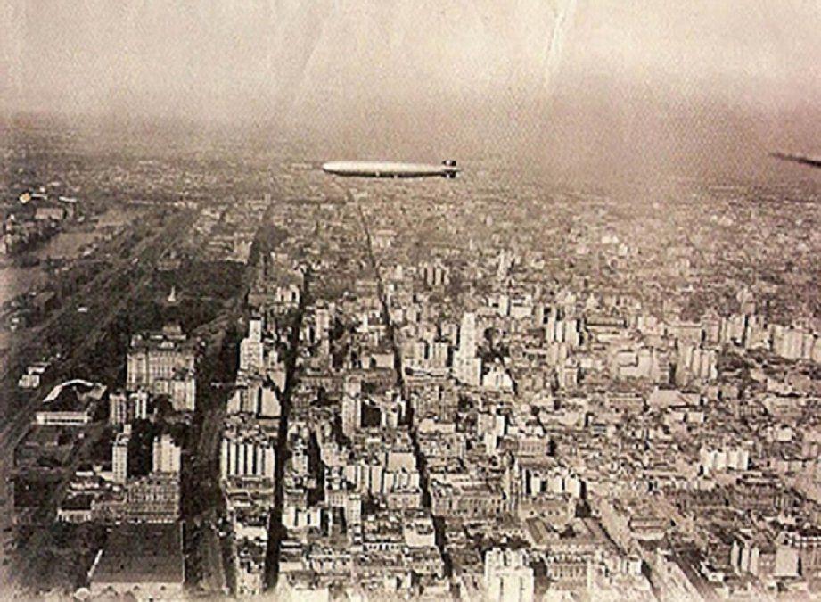 El Graf Zeppelin fue un gran dirigible alemán