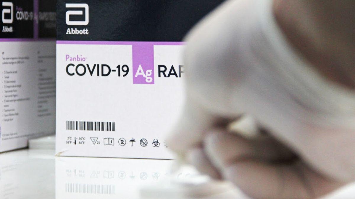 Los tests rápidos de antígenos permiten obtener los resultados en 20 minutos.
