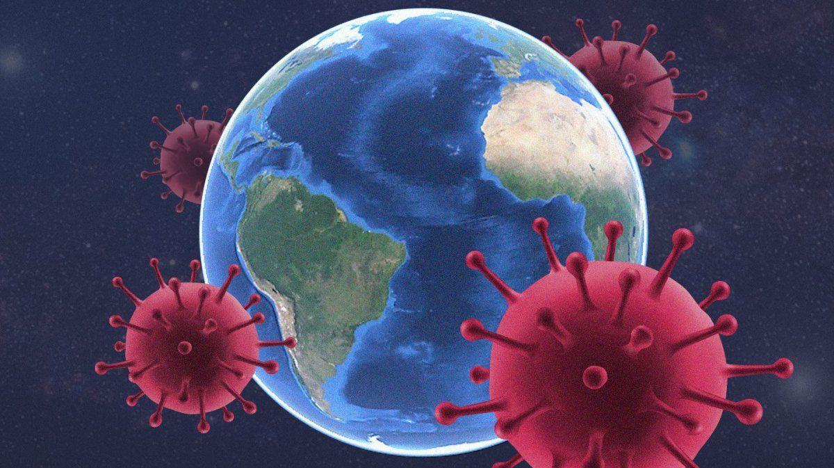 El sitio web de la universidad estadounidense informaba de 190.015.428 casos de infección por el nuevo coronavirus a escala global