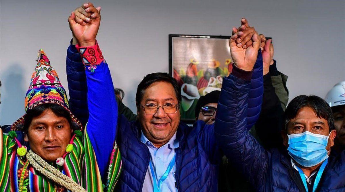 El presidente electo de Bolivia