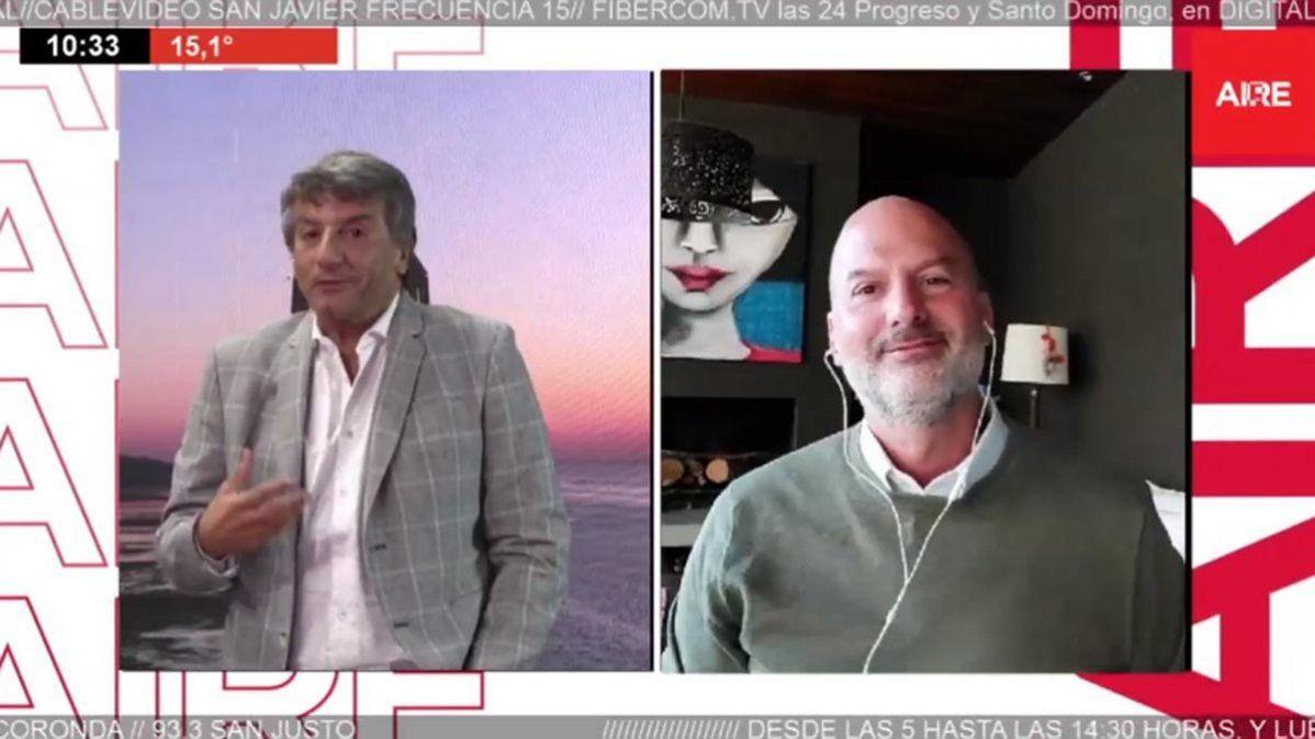 Andrés Repetto analizó en Aire de Santa Fe la situación de tensión entre Hamás y el Estado de Israel.