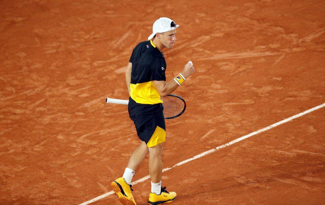 Diego Schwartzman se verá las caras con Dominic Thiem para intentar llegar a semifinales de Roland Garros.
