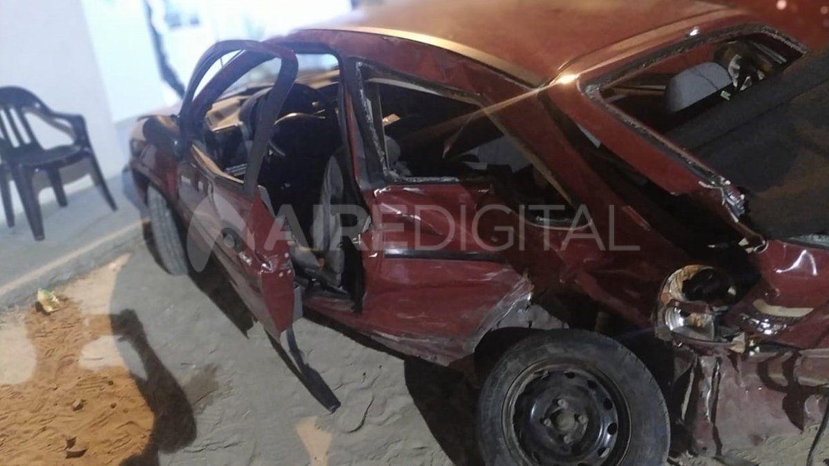 El accidente se produjo en ruta 1 cuando el imputado cruzó el semáforo en rojo
