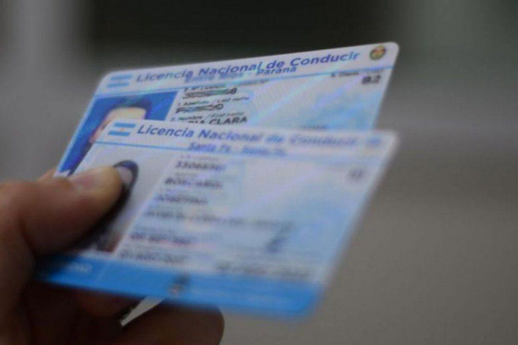 Prorrogaron nuevamente el vencimiento de las licencias de conducir