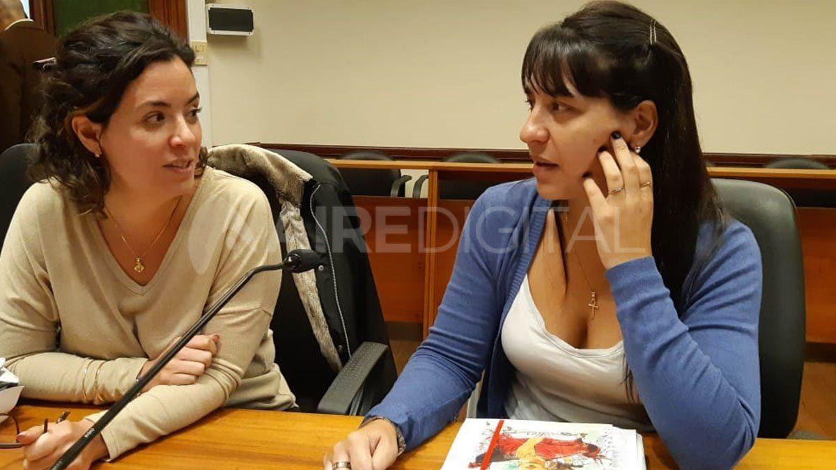 María Celeste Minniti y Alejandra Del Río Ayala