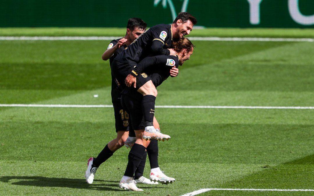El plantel del Barcelona se reunió en la casa de Lionel Messi y LaLiga podría sancionar al equipo por romper la burbuja Covid-19.