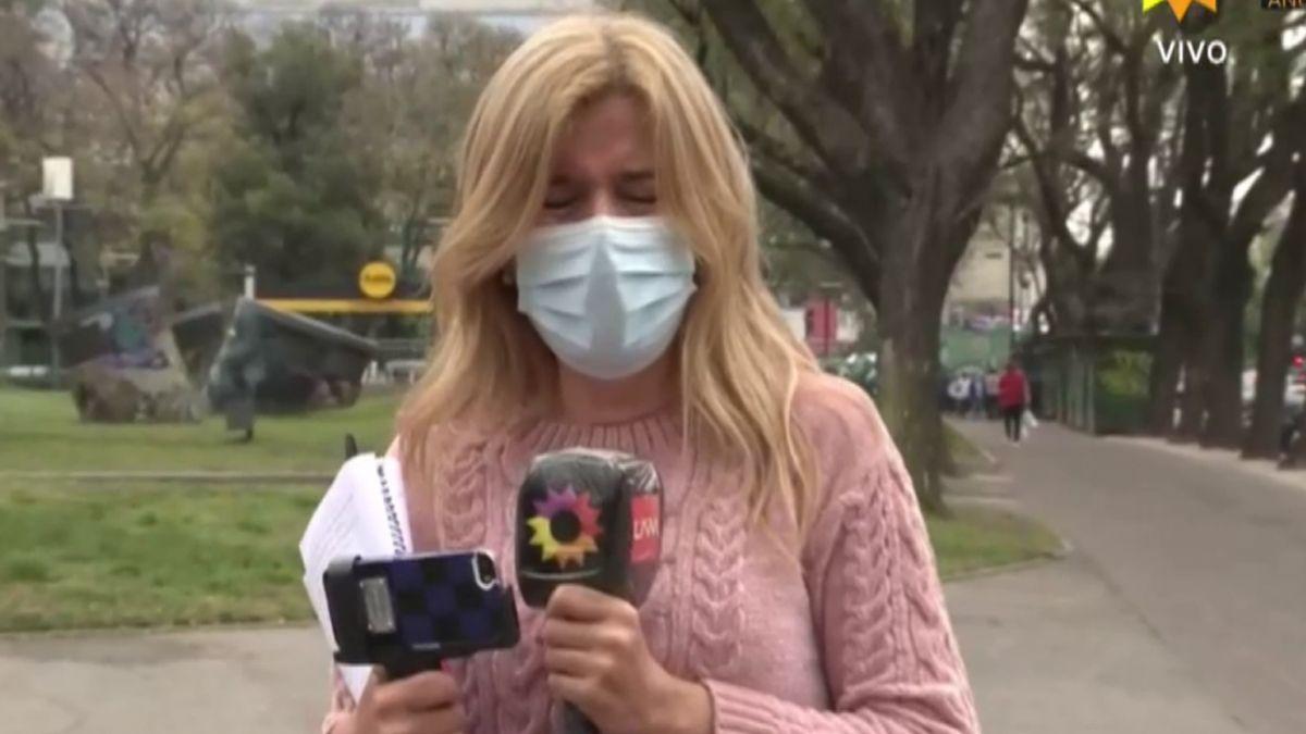 Mercedes Ninci se quebró en vivo