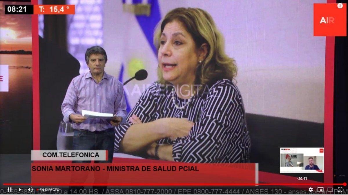 La ministra Sonia Martorano contó que Santa Fe compró 40.000 test rápidos que detectan coronavirus en 30 minutos.