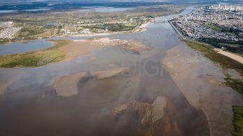 El río bajó dos centímetros y pronostican que llegaría a -0,87 metros en noviembre