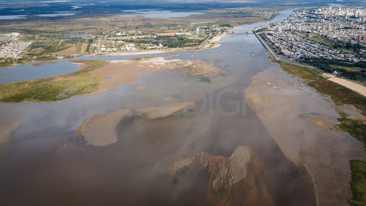 El río bajó dos centímetros este jueves en el Puerto de Santa Fe y quedó en 0