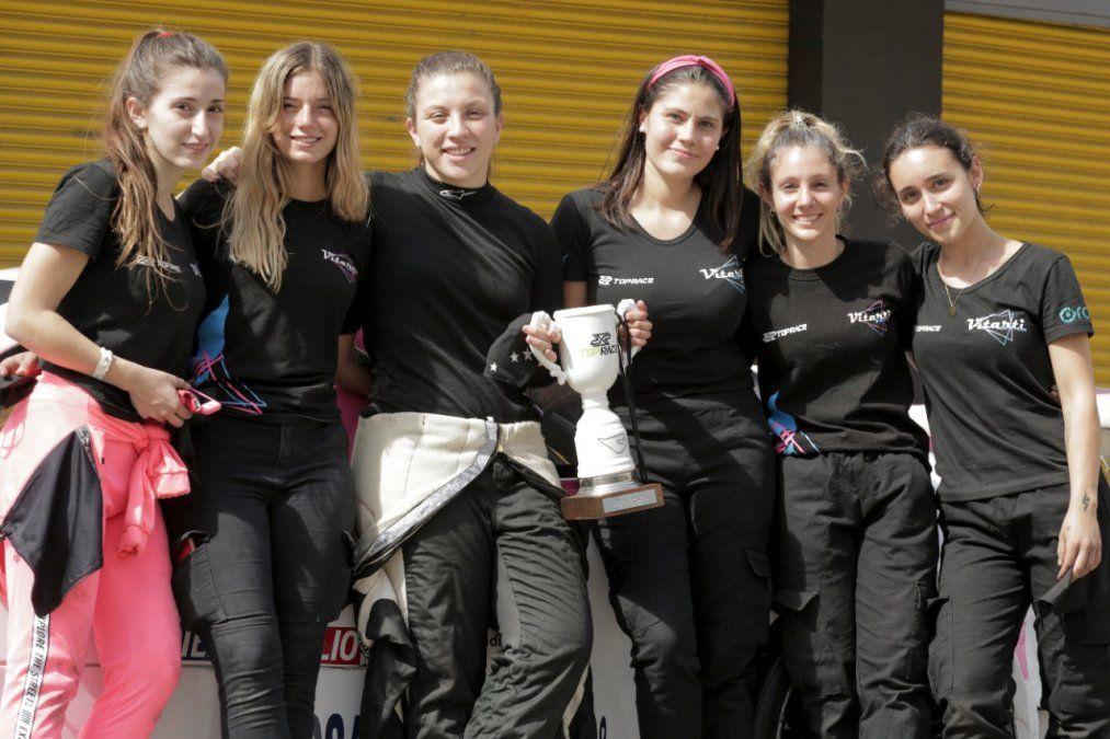 Vitarti Girlss Team es el primer equipo de competición de automovilismo conformado por mujeres en el país.