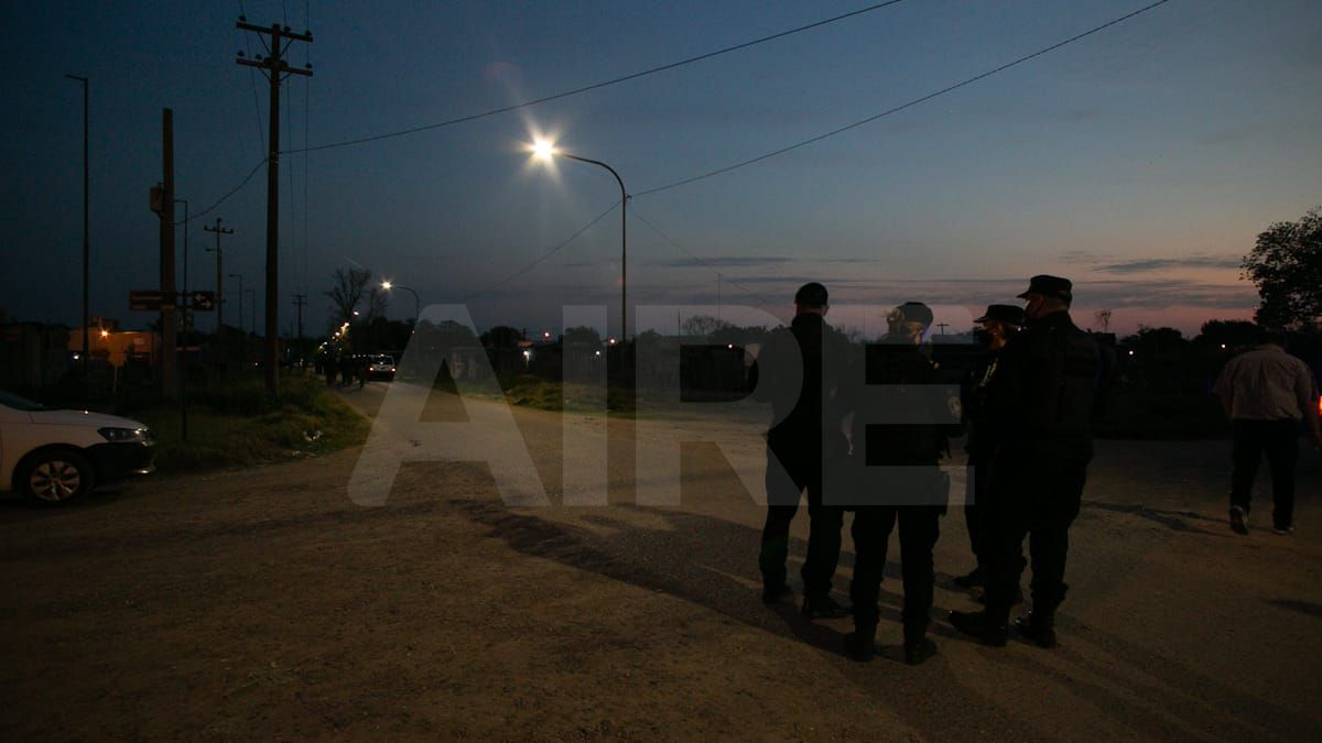 El operativo de desalojo comenzó a las 6 de este jueves.