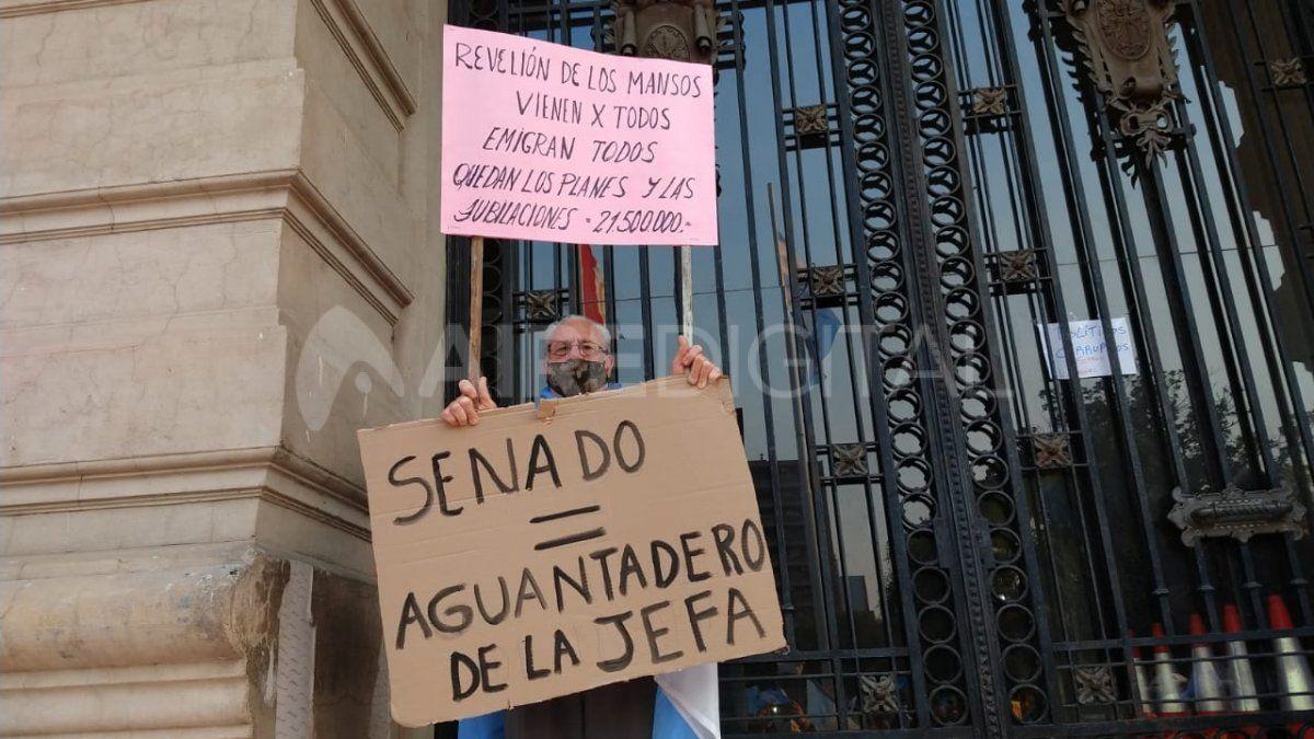 19S: En Santa Fe también se marchó contra las medidas del gobierno provincial