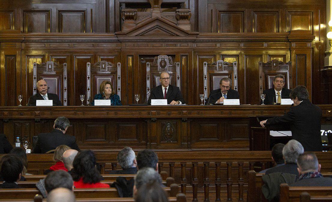 Los jueces de la Corte Suprema.